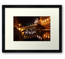 The Glass Canal Framed Print