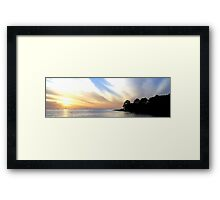 Twilight on the Gulf Framed Print