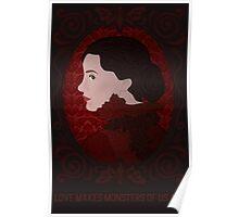 Crimson Peak - Love Makes Monsters of Us All Poster