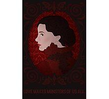 Crimson Peak - Love Makes Monsters of Us All Photographic Print