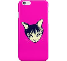 Weird Cat Head iPhone iPhone Case/Skin