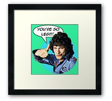 Rod Kimball's Seal of Approval Framed Print