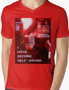 Self-Aware Mens V-Neck T-Shirt