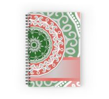 etnic mandala background Spiral Notebook