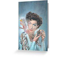 Eco Feminine Spray.  Greeting Card