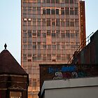 Tower block in the Sunset by DaleReynolds