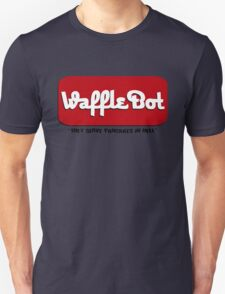 """Waffle Bot """"They Serve Pancakes in Hell"""" Unisex T-Shirt"""