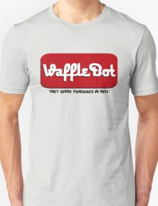"Waffle Bot ""They Serve Pancakes in Hell"" Unisex T-Shirt"