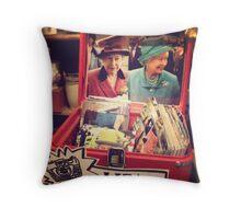 Queen Liz Throw Pillow