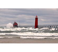 Grand Haven lighthouse Photographic Print