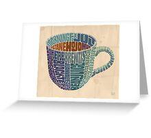 Cup o' Joe Greeting Card