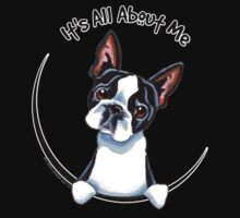 Its All About Me :: Boston Terrier One Piece - Short Sleeve
