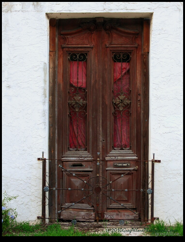 Old Wood Door by gregAllore