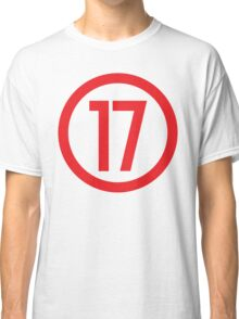 Red 17 - Where Level 6 is born Classic T-Shirt