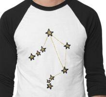 Libra x Astrology x Zodiac Men's Baseball ¾ T-Shirt