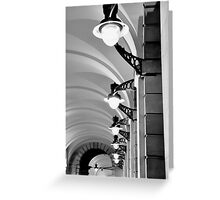 Lighting Covent Garden Greeting Card