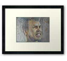 Mohammed Ali - Portrait 5 Framed Print