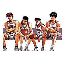 SLAM DUNK TEAM Photographic Print