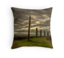 The Ring o' Brodgar, Orkney, Scotland Throw Pillow