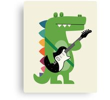 Croco Rock Canvas Print