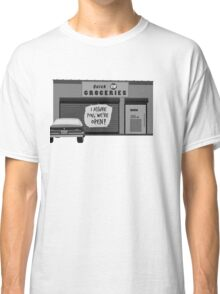 Clerks - I Assure You, We're Open! Classic T-Shirt