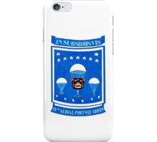15th Aerial Port Squadron iPhone Case/Skin