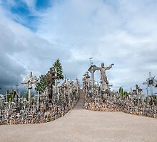 Hill of Crosses by Ilze Lucero