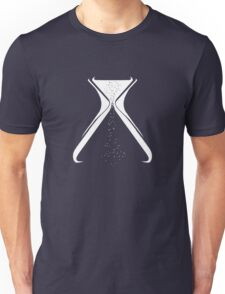 Hourglass logo for black shirts Unisex T-Shirt