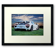 2014 Porsche 918 Spyder 'Your View' Framed Print