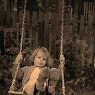 Just Swinging-Wheee!!! - Original Grunge by Robin Webster