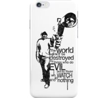 Anonymous and typography quote iPhone Case/Skin