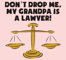My Grandpa Is A Lawyer Kids Tee
