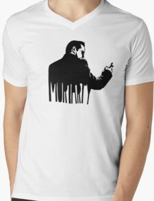 Just Moriarty Mens V-Neck T-Shirt