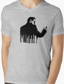 Just Moriarty Mens V-Neck T-Shirt