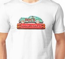 Docs Vintage Neon Sign Austin Texas Unisex T-Shirt