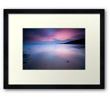 C4NdY bEaCh Framed Print