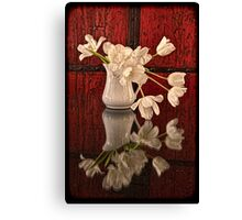Springy Tulips Canvas Print
