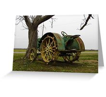 Deere On The Prairie Greeting Card