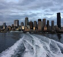 Seattle Cityscape at Dusk by lensharp