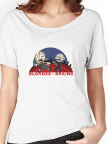 Blondes Have Brains Women's Relaxed Fit T-Shirt