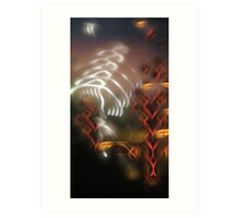The Speed of Light Art Print