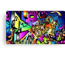 Ambigram Madness Canvas Print
