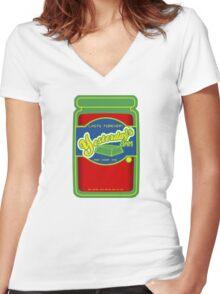 Yesterday's Jam Women's Fitted V-Neck T-Shirt