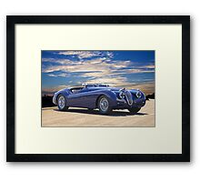 1951 Jagura XK 120 ' Roadster 'Rally Prepped' Framed Print