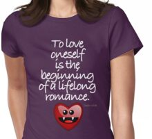 TO LOVE ONESELF Womens Fitted T-Shirt