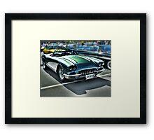 58 Vette Framed Print