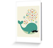 Firewhale Greeting Card