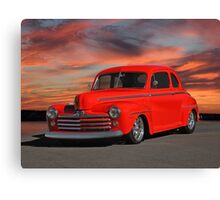 1947 Ford Super Deluxe Coupe 'Sunset Coupe' Canvas Print