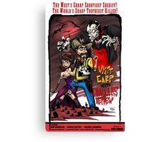 Wyatt Earp Meets Dracula's Nephew Canvas Print