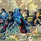 BIRD SOCIAL by Tammera